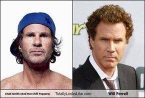 Tweet of the Day:If Will Ferrell Secures $300k in Donations, He Will Compete in a Drum Battle Against His Doppelgänger, RHCP Drummer, Chad Smith