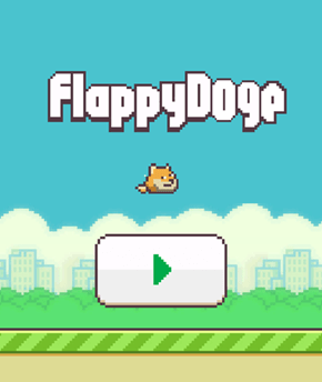 Flappy Doge is Here. Such Win.