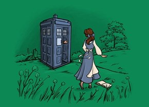 She Won't Discover That He's a Timelord Til Chapter Three