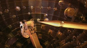 A Giant Laser Has Created Nuclear Fusion