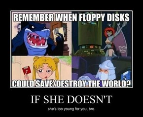 Damn Those Vile Floppies.