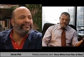 Uncle Phil Totally Looks Like Perry White from Man of Steel