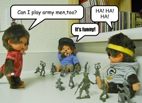 Can I play army men,too?