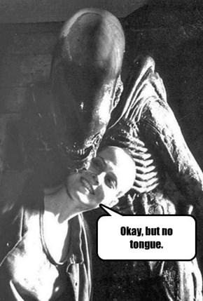 Sci Fi first date rules.