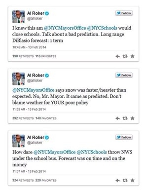 Al Roker Rips into New York's Mayor Over Their Weather Plans
