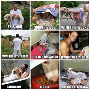 Man's a Hero