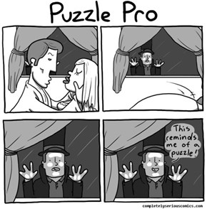What Puzzles Have You Been Solving Professor?