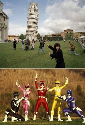 The Leaning Tower of Morphin Time