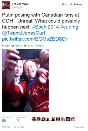 Canadian Olympians Are Taking Casual Selfies With One of the Most Powerful Men in the World. No Big Deal.
