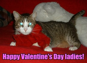 Happy Valentine's Day ladies!