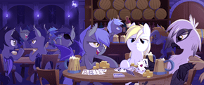 Canterlot's Night Gale Midnight Tavern