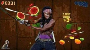 If You Ever Wondered What Michonne Did Before It All Started