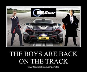 THE BOYS ARE BACK  ON THE TRACK