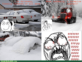 Curse You, Mr. Plow!