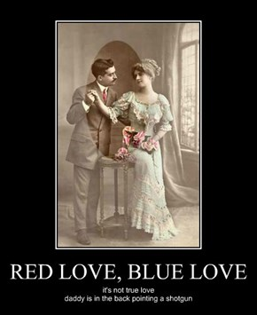RED LOVE, BLUE LOVE
