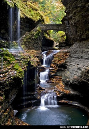 Rainbow Bridge, Watkins Glen ,NY