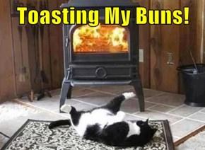 Toasting My Buns!