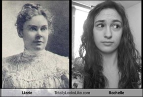 Lizzie Totally Looks Like Rochelle