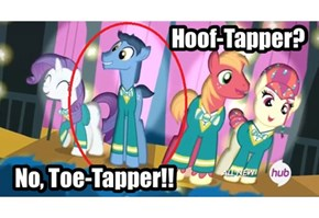 The Only Pony With Toes Apparently...