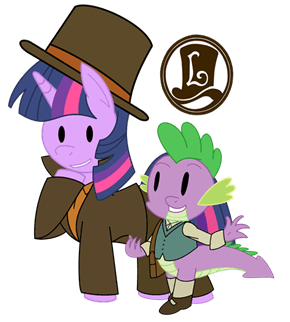 Professor Twilight and the Mare-stery Mask