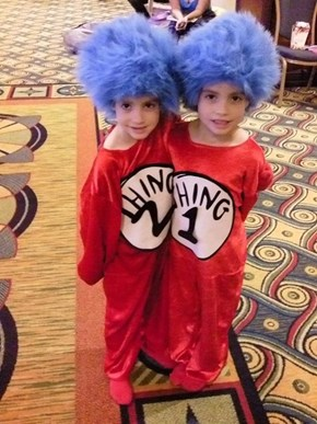 Adorable Dr Seuss Cosplay