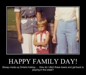 HAPPY FAMILY DAY!