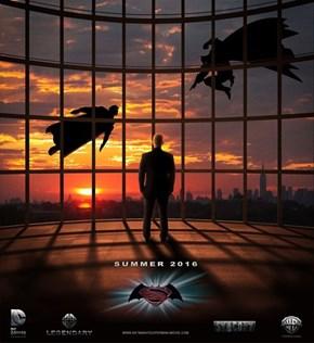 Awesome Batman vs Superman Fan Poster