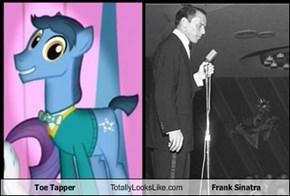 Toe Tapper Totally Looks Like Frank Sinatra