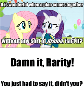 Rarity doesn't get it