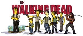 Simpsonized Walking Dead