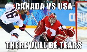 CANADA VS USA  THERE WILL BE TEARS