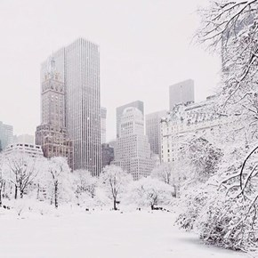 For Just a Few Minutes, New York Looks Amazing in the Snow