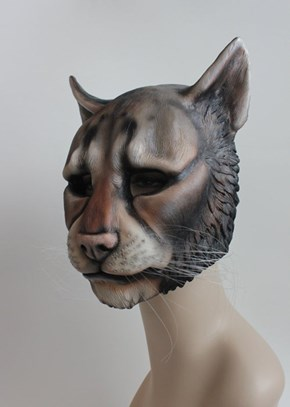 Be The Creepiest Dragonborn With This Handmade Khajiit Mask