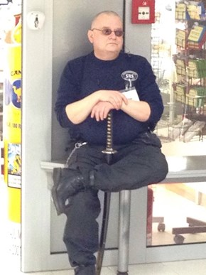 Ted Biggersby, Mall Samurai