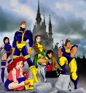 What If Disney Characters Were Also X-Men?
