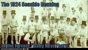 "The 1924 Seaside Reunion  of the former ""Baby New Years"""