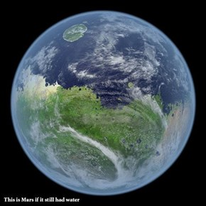 Mars Is Looking Blue