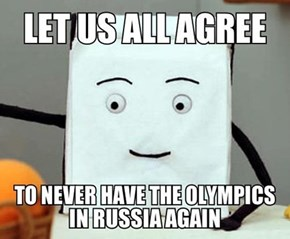 Do You Promise, International Olympic Committee?