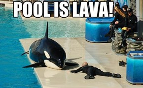 POOL IS LAVA!