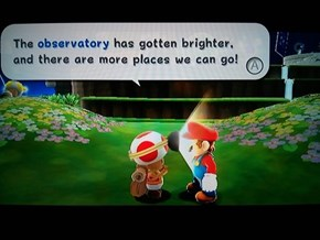 Dear Toad, Get That Light Outta Mah Freakin' Face!