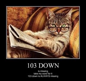 103 DOWN