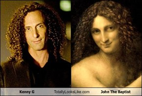 Kenny G Totally Looks Like John The Baptist