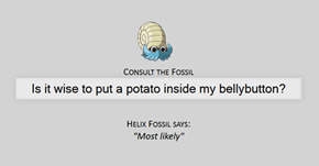 The Great Helix Fossil Has Spoken!