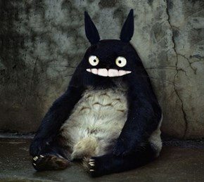 Realistic Totoro is Totally Terrifying