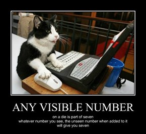 ANY VISIBLE NUMBER