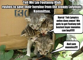 We Luv Foofanny Klub to teh resque!!!