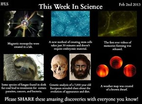 Last Week Had a Lot of Science