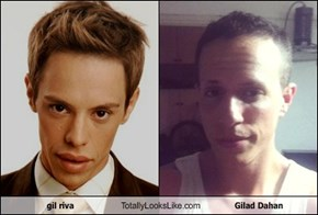gil riva Totally Looks Like Gilad Dahan