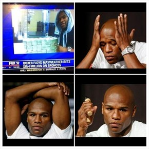 Floyd Mayweather Made a Bad Bet
