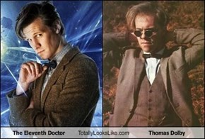 The Eleventh Doctor Totally Looks Like Thomas Dolby